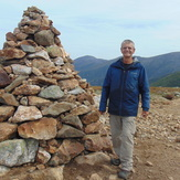 At the summit, Mt. Washington in the background., Mount Eisenhower
