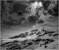 Mt. Baker from hogsback, Mount Baker photo
