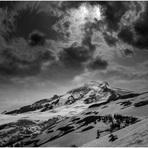 Mt. Baker from hogsback, Mount Baker