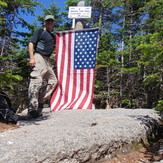 4th of JUly- North summit of Mt. Hancock, Mount Hancock (New Hampshire)