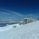 Kilimanjaro Glaciers in the sky, Mount Kilimanjaro