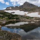 Mt Alice from Snowbank Lake, Mount Alice (Colorado)