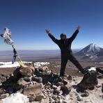 Top of cerro toco.
