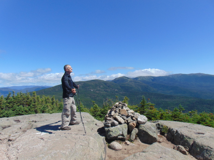 At the top!, Mount Jackson (New Hampshire)