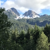 Kings Peak viewed from Highway 28, Kings Peak (Elk River Mountains)