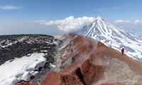 colorful caldera of Avachinsky photo