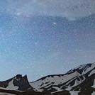 Avachinsky under the Milky Way