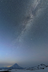 Vilyuchik under the Milky Way photo