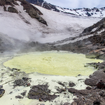 Boiling lake of sulfuric acid, Mutnovsky