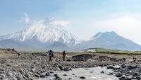 rivercrossings on Kamchatka should be done in morning hours, Kamen (Kamchatka) photo