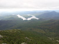 Lake Placid from the summit of Whiteface, Whiteface Mountain photo