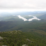 Lake Placid from the summit of Whiteface, Whiteface Mountain