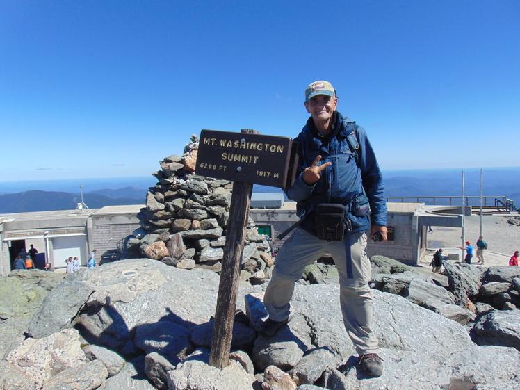 Second summit of Mt. Washington, Mount Washington (New Hampshire)
