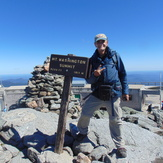 Second summit of Mt. Washington, Mount Washington (New Hampshire)