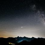 Stars above Monte Pisanino