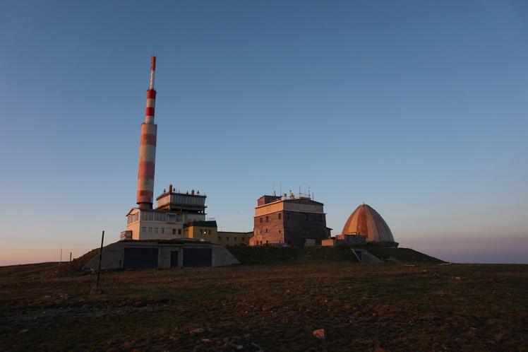 Botev Peak at sunset