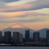 Fuji-san from Yokohama