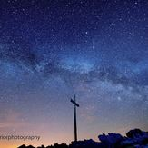 milkyway over carrauntoohil