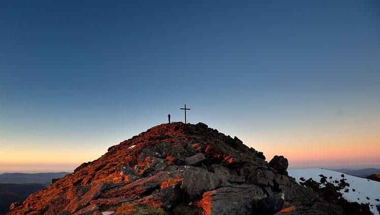 sunrise, Carrauntoohil
