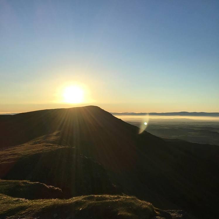 Sunrise July 2018 Blencathra