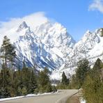 Early Spring in the Teton's, Grand Teton