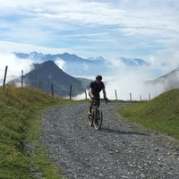 Route de La Soif, Mont Charvin (Aravis) photo