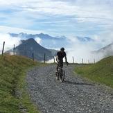 Route de La Soif, Mont Charvin (Aravis)