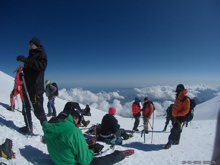 Near Summit, Mount Elbrus