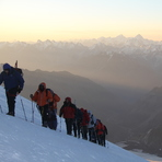 On the climb..., Mount Elbrus
