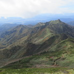 View from Mt. Hotaka, Hotakadake