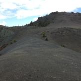 Near the summit, Snow Mountain East