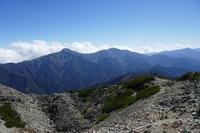 Main ridge of Japanese Northern Alps, Kita Dake photo