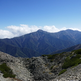 Main ridge of Japanese Northern Alps, Kita Dake