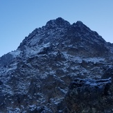West Ridge and NW Face, Ptarmigan Peak (Alaska)