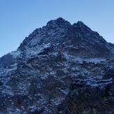 West Ridge and NW Face, Ptarmigan Peak (Alaska)