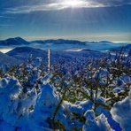 From the summit of Mt Tom, Mount Tom (New Hampshire)