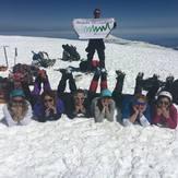Proyecto10cumbres, Volcan Lanin