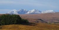 NW Scotland snowy mountains, Sgurr a' Mhaoraich photo
