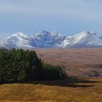 NW Scotland snowy mountains, Sgurr a' Mhaoraich