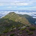 View to the north, Pico Ruivo