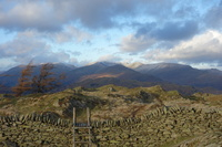 Black Fell towards Hellvelyn, Black Fell (Lake District) photo