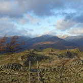 Black Fell towards Hellvelyn, Black Fell (Lake District)