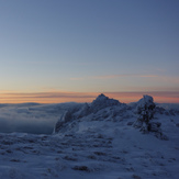 Pollino - December sunrise, Monte Pollino
