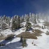 Final Ascent To Summit - Ski Hut Trail, Mount Baldy (San Gabriel Range)