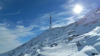 Sveti Jure prekriven snijegom... photo