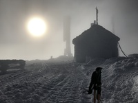 In the clouds!, Mount Washington (New Hampshire) photo