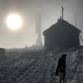 In the clouds!, Mount Washington (New Hampshire)