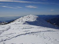 Baldy Summit looks out to West Baldy (summitted 12/8/18), Mount Baldy (San Gabriel Range) photo