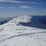 Baldy Summit looks out to West Baldy (summitted 12/8/18), Mount Baldy (San Gabriel Range)