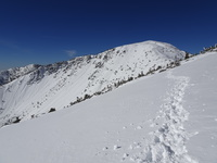 Marching toward Baldy, Mount Baldy (San Gabriel Range) photo